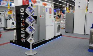 Free-Standing-Leaflet-Dispenser