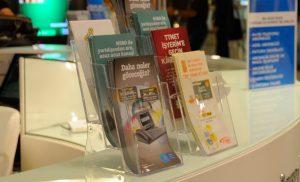 Multiple Pocket Leaflet Dispensers